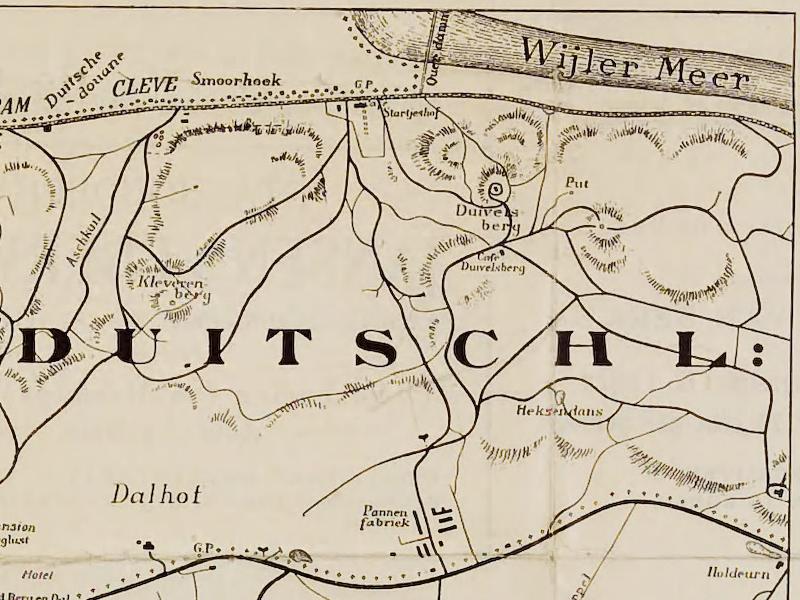 1914-wandelkaart-Berg-en-Dal1