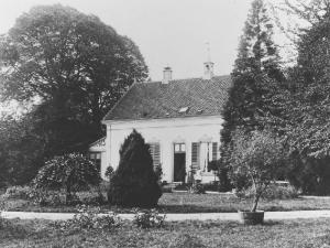 Voorkant van het landhuis