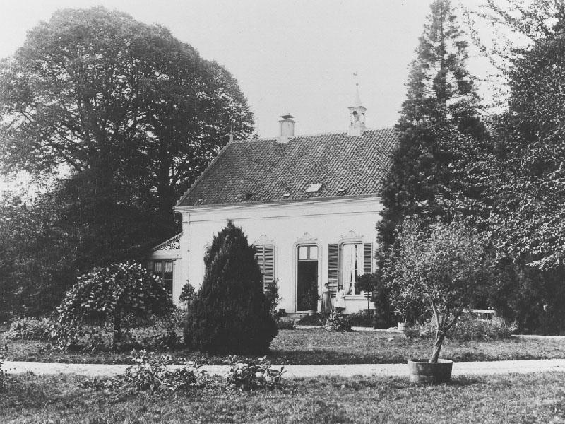 Landhuis-voorkant
